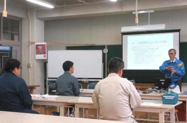 第一種電気工事士 講師 県立福岡工業高校 鳥居郁夫様